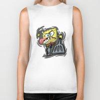 spongebob Biker Tanks featuring SPONGEBOB by September 9