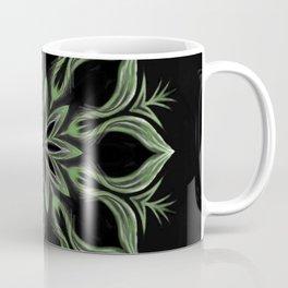 Alien Mandala Swirl Coffee Mug