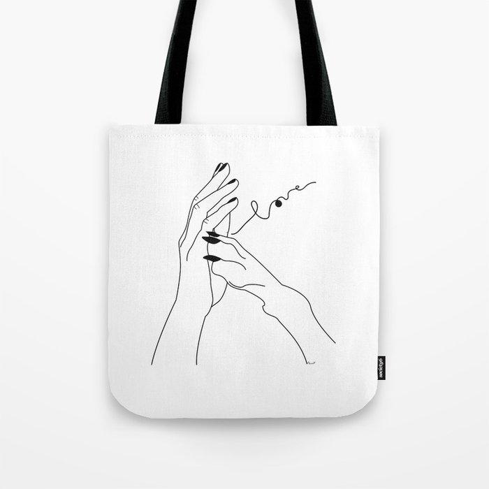 One In My Wolf Pack Tote Bag By