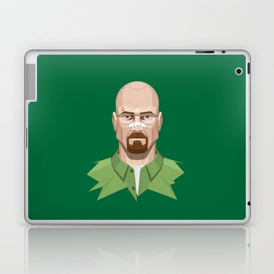 Breaking Bad - Walter White Beaten Up Laptop & iPad Skin