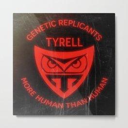 Tyrell Corporation - More human than human Metal Print