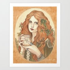 Herbal Tea Art Print