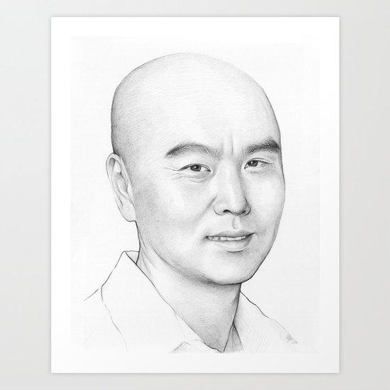 Vince Masuka (DEXTER) Art Print