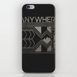 Anywhere iPhone Skin