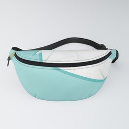 Origami pigeon Fanny Pack