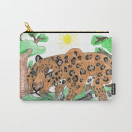 Indian Leopard Carry-All Pouch