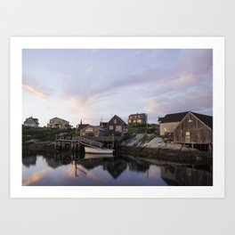 Peggy's Cove Nova Scotia Art Print