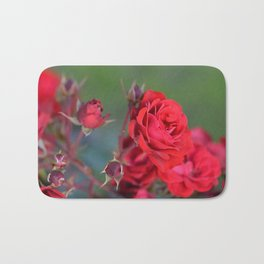 Blooming Roses Bath Mat