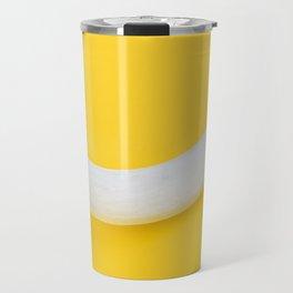 White Banana Travel Mug