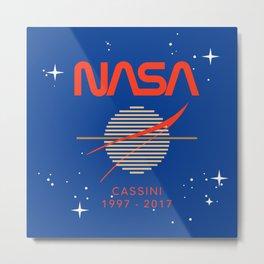 Cassini Probe 1997 - 2017 Metal Print