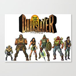 The Darkslayer Group Photo Canvas Print