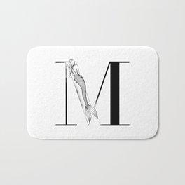 Mermaid Alphabet - M Bath Mat