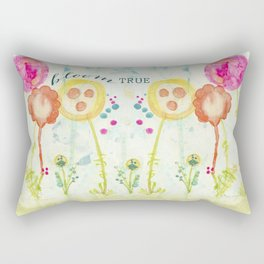Bloom True by Terri Conrad Designs Rectangular Pillow