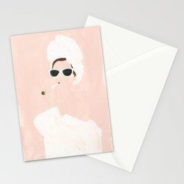 Beauty routine Stationery Cards
