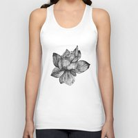 lotus flower Tank Tops featuring Lotus by Sunali Narshai