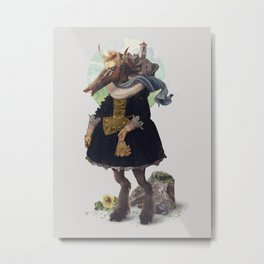Country-girl, City-life Metal Print