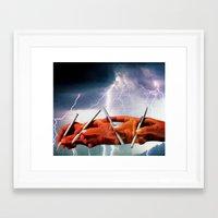 channel Framed Art Prints featuring Channel by Joellart