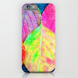 The Color Of Life iPhone Case