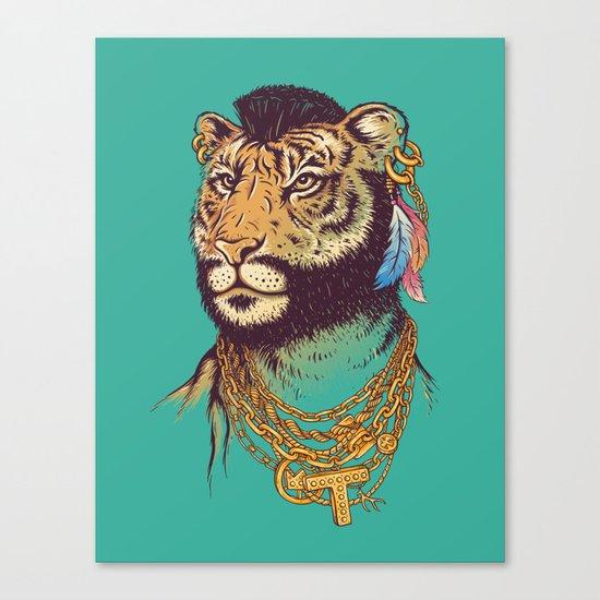 Mr. T(iger) Canvas Print