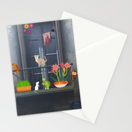 Balcony in Paris Stationery Cards
