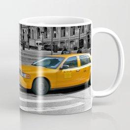 NYC - Yellow Cabs - Trinity Place Coffee Mug