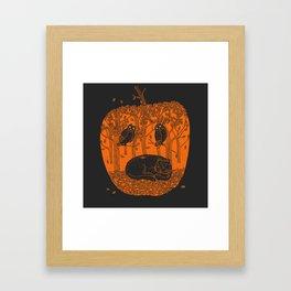 Pumpkin Story. Chapter 1 Framed Art Print