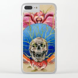 The Beat Goes On Clear iPhone Case