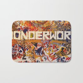 #Wonderworld Bath Mat