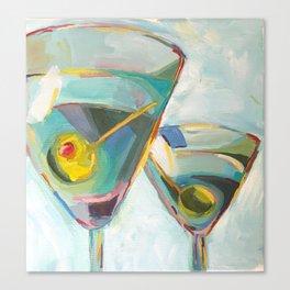 Martinis Canvas Print