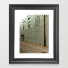 wall/post Framed Art Print
