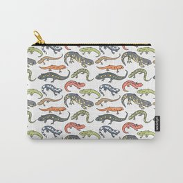 Salamander Pattern Carry-All Pouch