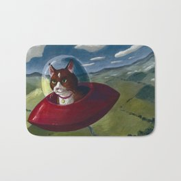 Saucer Cat Bath Mat