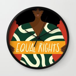 Equal Rights Wall Clock