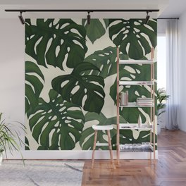 Monstera Wall Mural