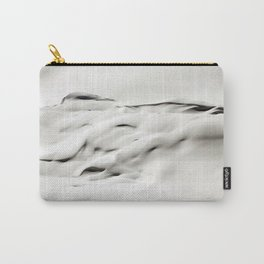Snow Abstract Carry-All Pouch