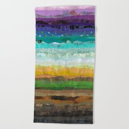 Sunday Brunch Beach Towel
