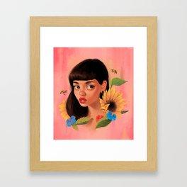 Beekeeper Framed Art Print