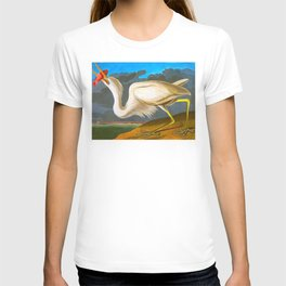 Great White Heron T-shirt