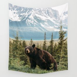 Black Bear Wall Tapestry