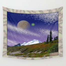 ON THE TRAIL TO DISTANT WORLDS Wall Tapestry