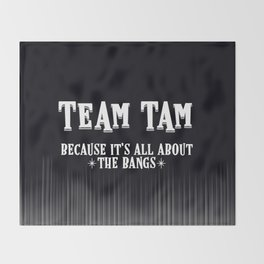 Team Tam Throw Blanket