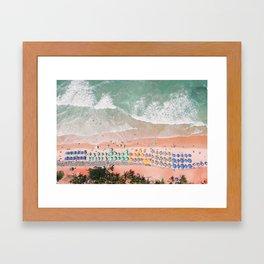 Brazil Beach Framed Art Print