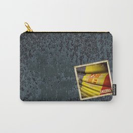 Grunge sticker of Andorra flag Carry-All Pouch