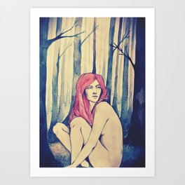 Can you hear the trees talking? Art Print