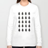 christmas tree Long Sleeve T-shirts featuring Christmas Tree by uzualsunday