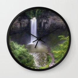 Taughannock Falls Wall Clock