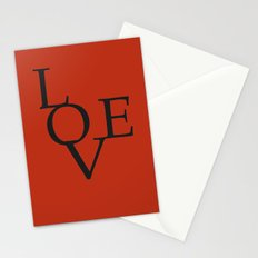 LOVE RED Stationery Cards