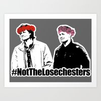 Not The Losechesters Art Print