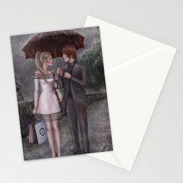 ChloNath - Gentle Rain Stationery Cards