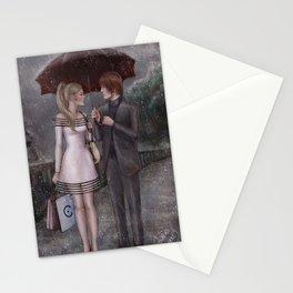 ChloNath - Gentle Rain Stationery Cards